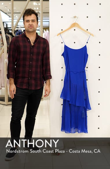 Ruffle Tie Waist Midi Dress, sales video thumbnail