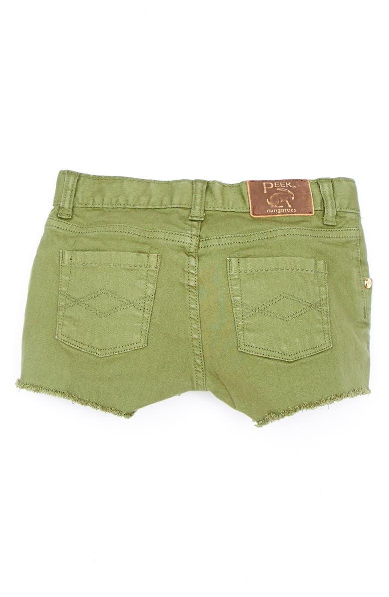 PEEK AREN'T YOU CURIOUS Peek 'Morgan' Cutoff Shorts, Main, color, 305