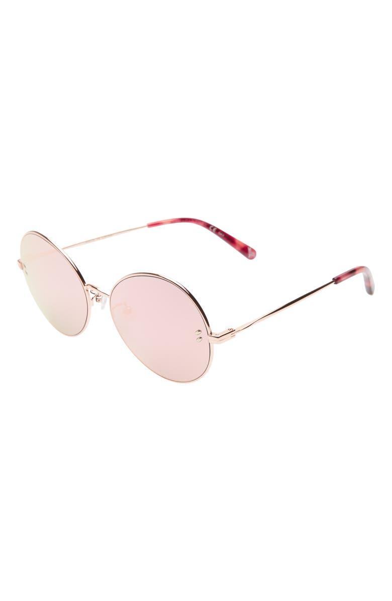 STELLA MCCARTNEY KIDS 54mm Round Sunglasses, Main, color, 700