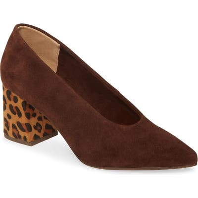Seychelles Make An Entrance Pump, Brown