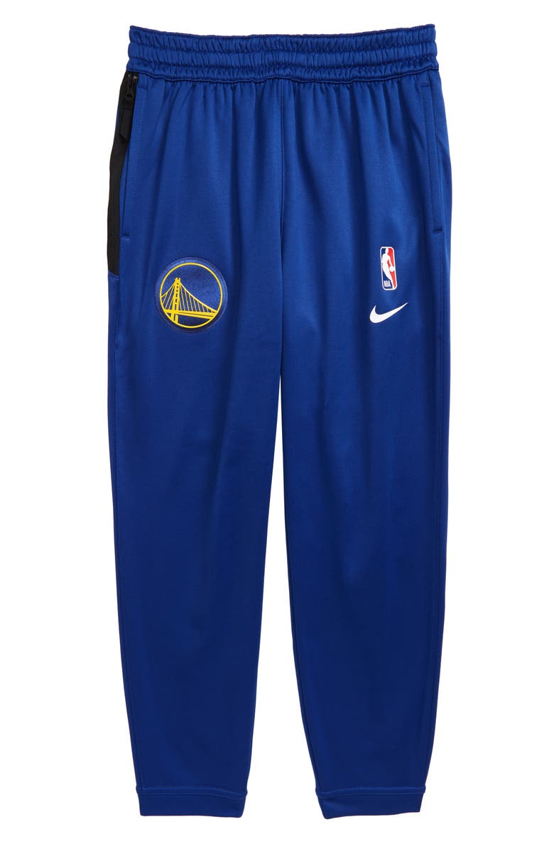 NIKE NBA Dry New York Knicks Sportlight Sweatpants, Main, color, RUSH BLUE