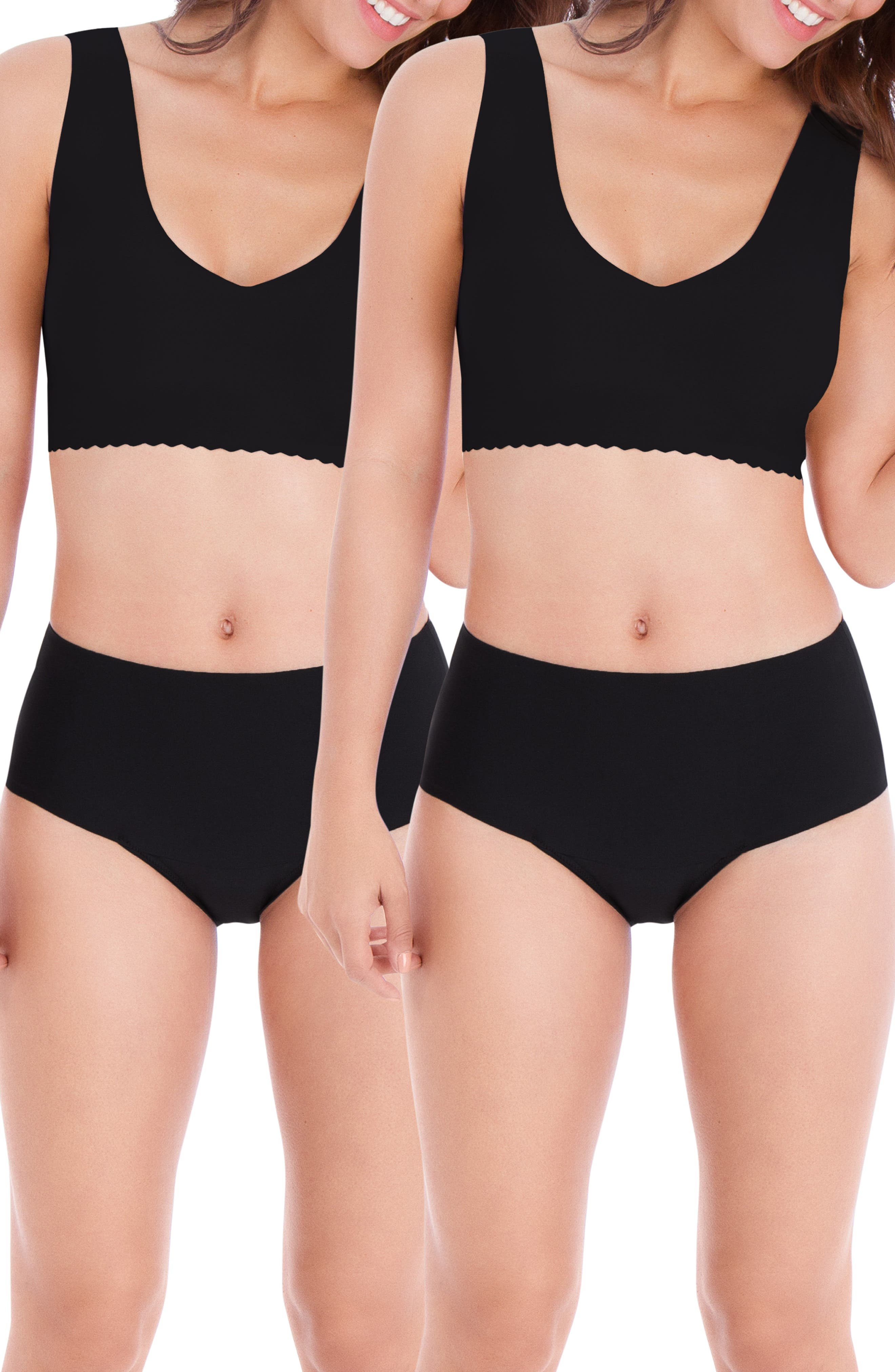 Women's Belly Bandit Mother Tucker 2-Pack Leak-Resistant Smoothing Panties