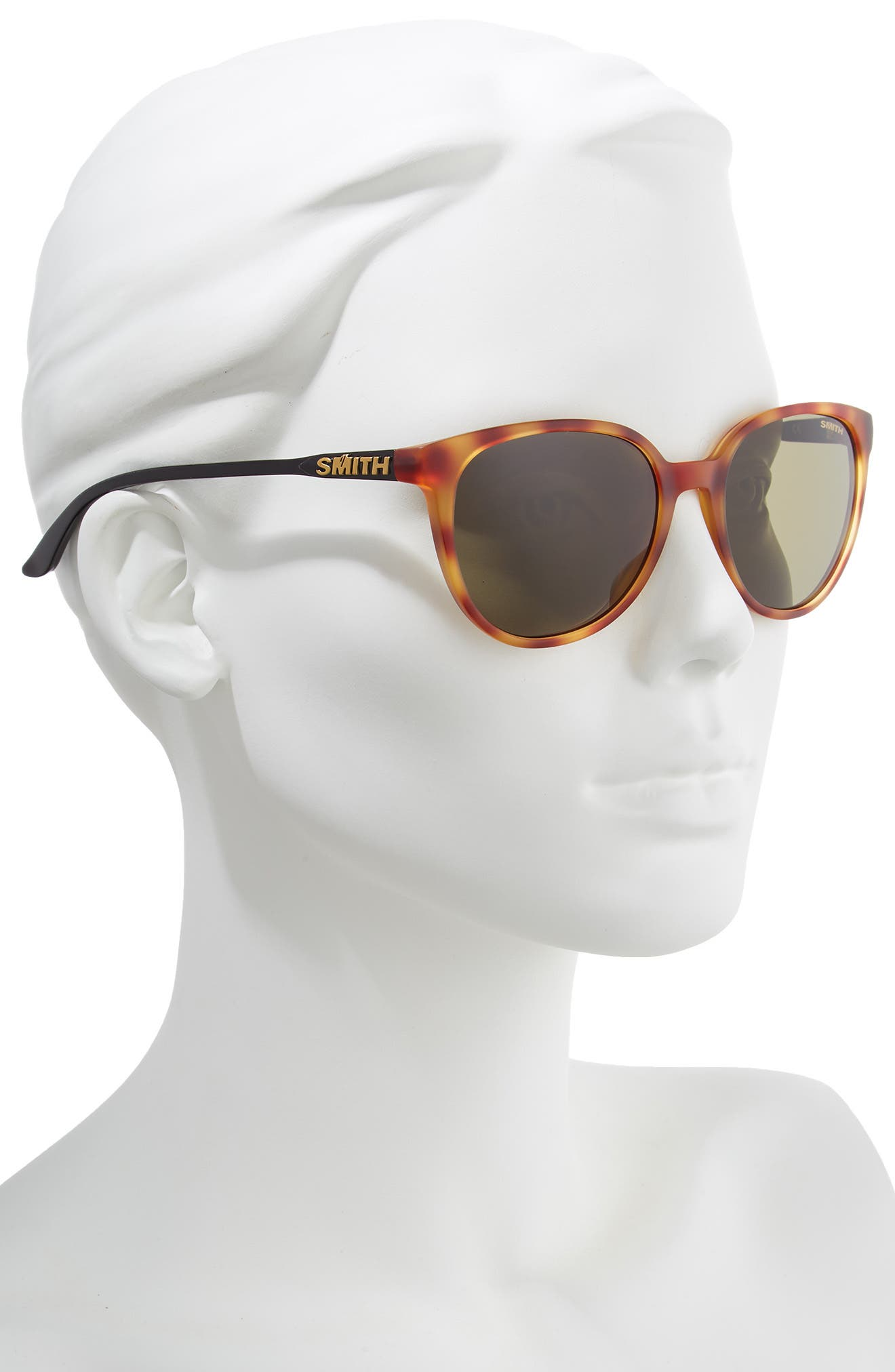 ,                             Cheetah 53mm ChromaPop<sup>™</sup> Polarized Sunglasses,                             Alternate thumbnail 2, color,                             HONEY TORTOISE/ GREY GREEN