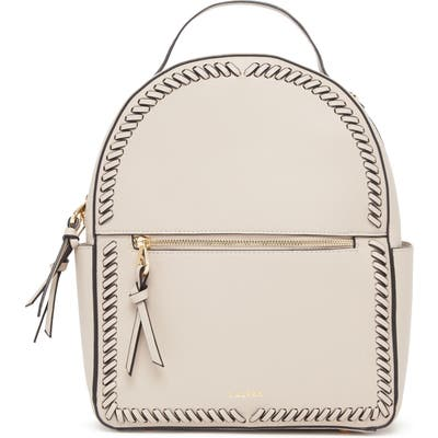 Calpak Kaya Faux Leather Round Backpack - Beige