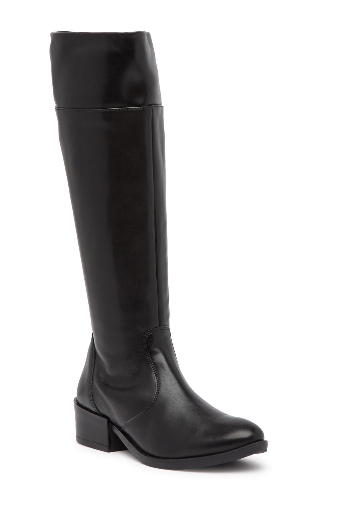 Image of Italian Shoemakers Ada Leather Knee-High Boot