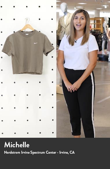NikeLab NRG Crop Cotton T-Shirt, sales video thumbnail