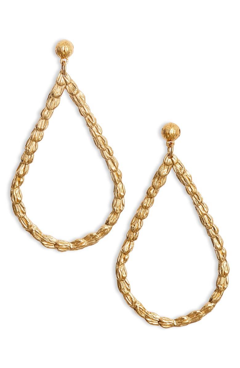 GAS BIJOUX Liane Drop Earrings, Main, color, 710