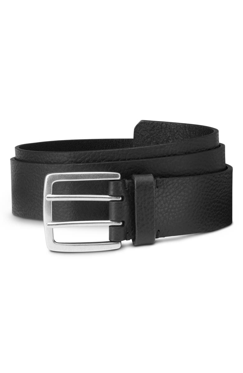 ALLEN EDMONDS Ranger Street Leather Belt, Main, color, 001