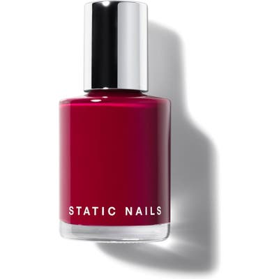 Static Nails Liquid Glass Nail Lacquer - Scarlet