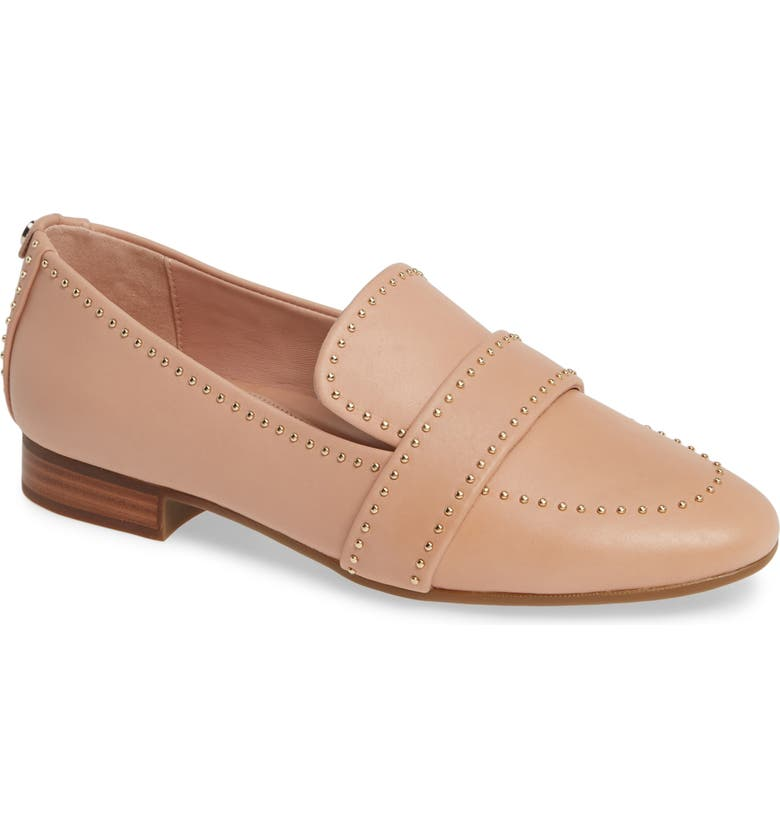 TARYN ROSE Bristol Loafer, Main, color, SEASHELL LEATHER