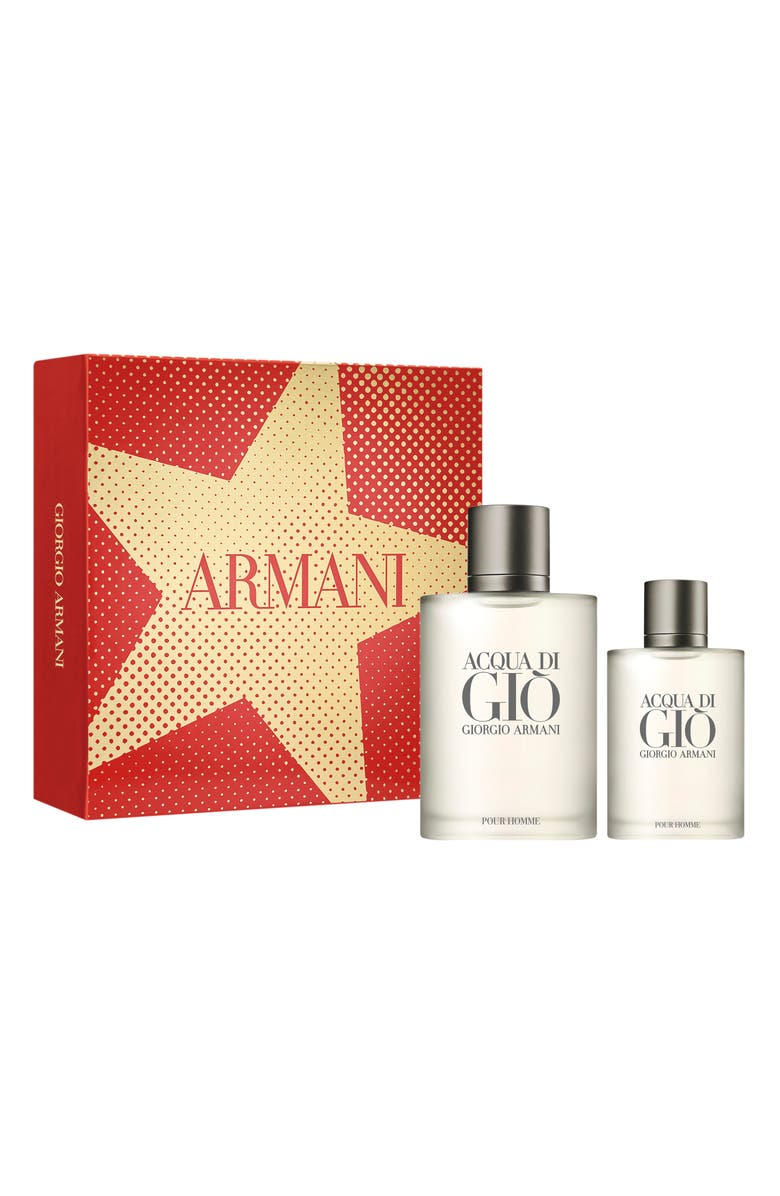 GIORGIO ARMANI Acqua di Giò pour Homme Eau de Toilette Set, Main, color, NO COLOR