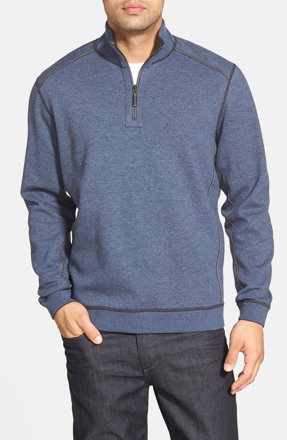 ,                             'Flip Side' Reversible Quarter Zip Pullover,                             Alternate thumbnail 15, color,                             020