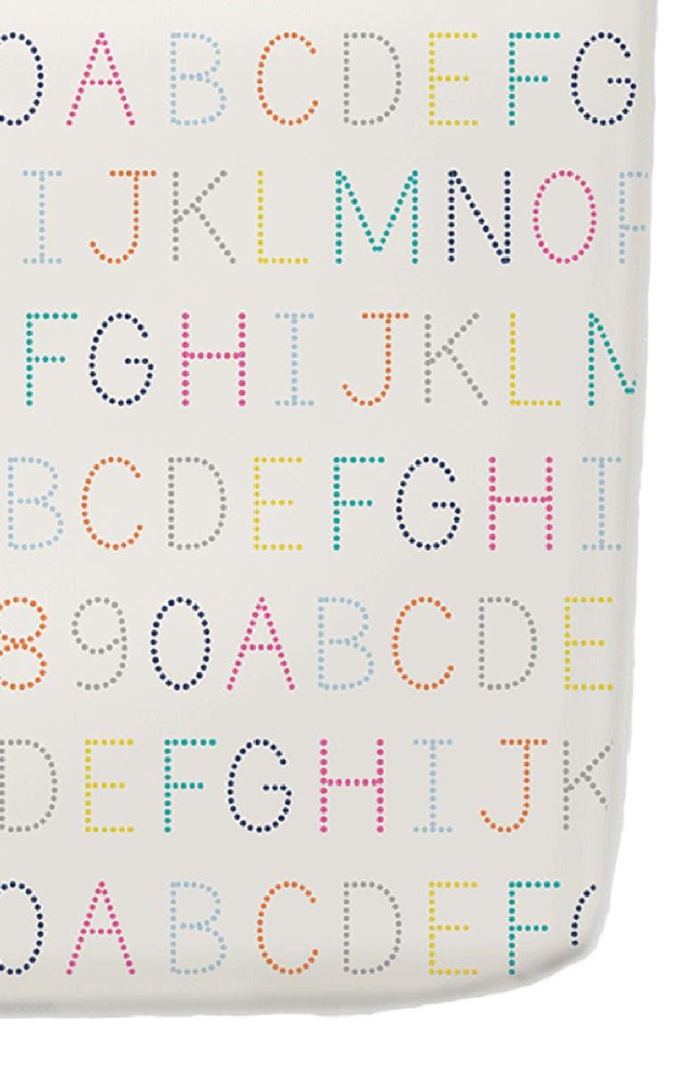 PEHR Alphabet Crib Sheet, Main, color, 100