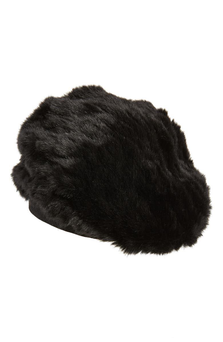 Faux Fur Beret by Halogen®
