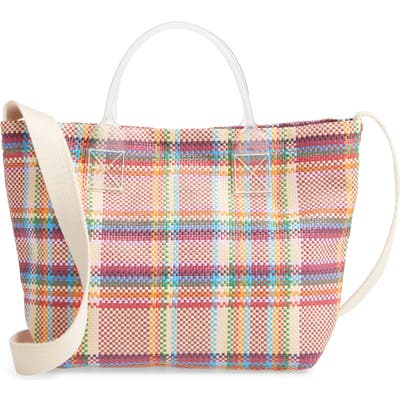Madewell The Small Beach Tote Bag - Pink
