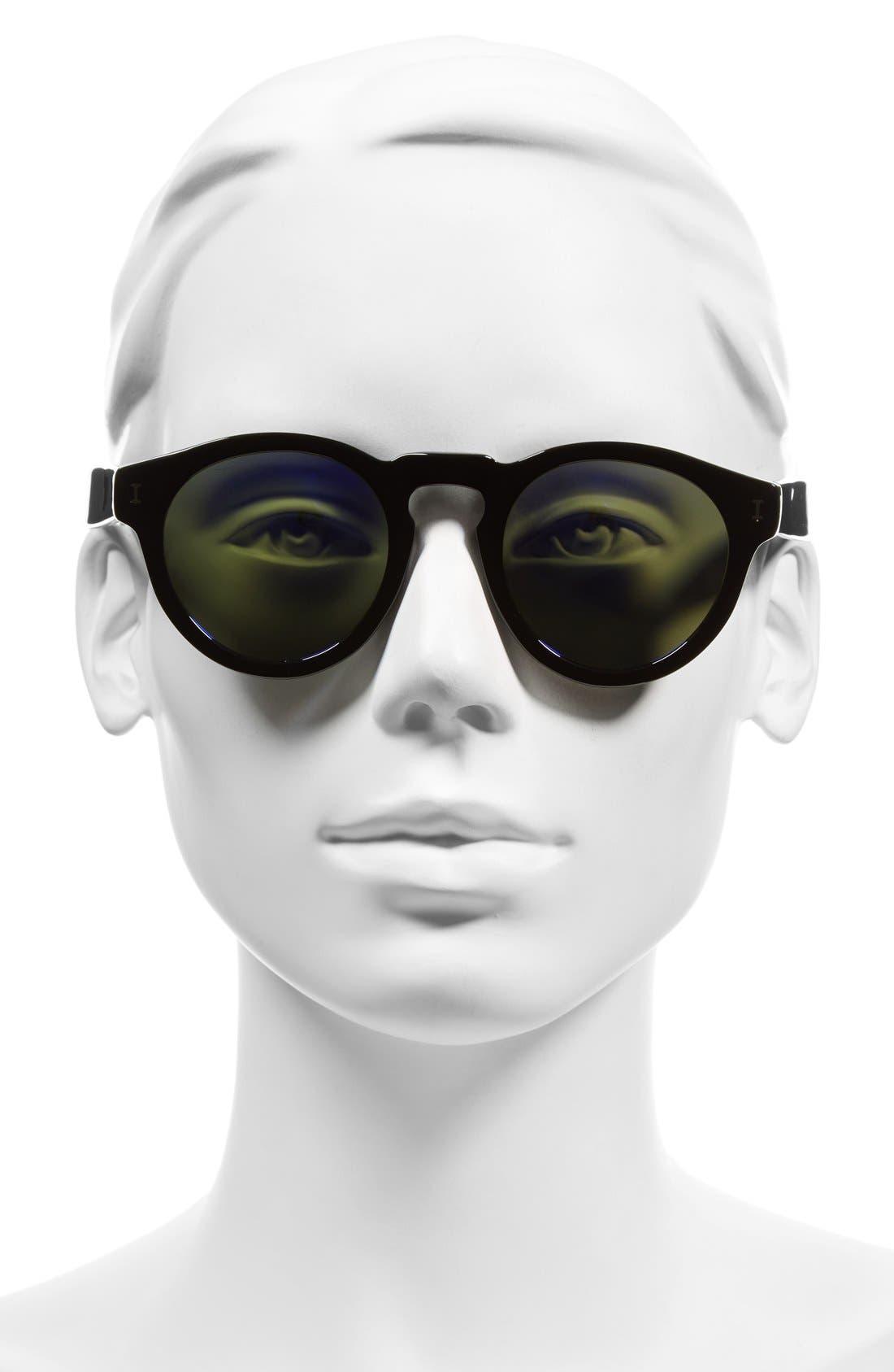 ,                             'Leonard' 47mm Sunglasses,                             Alternate thumbnail 42, color,                             033