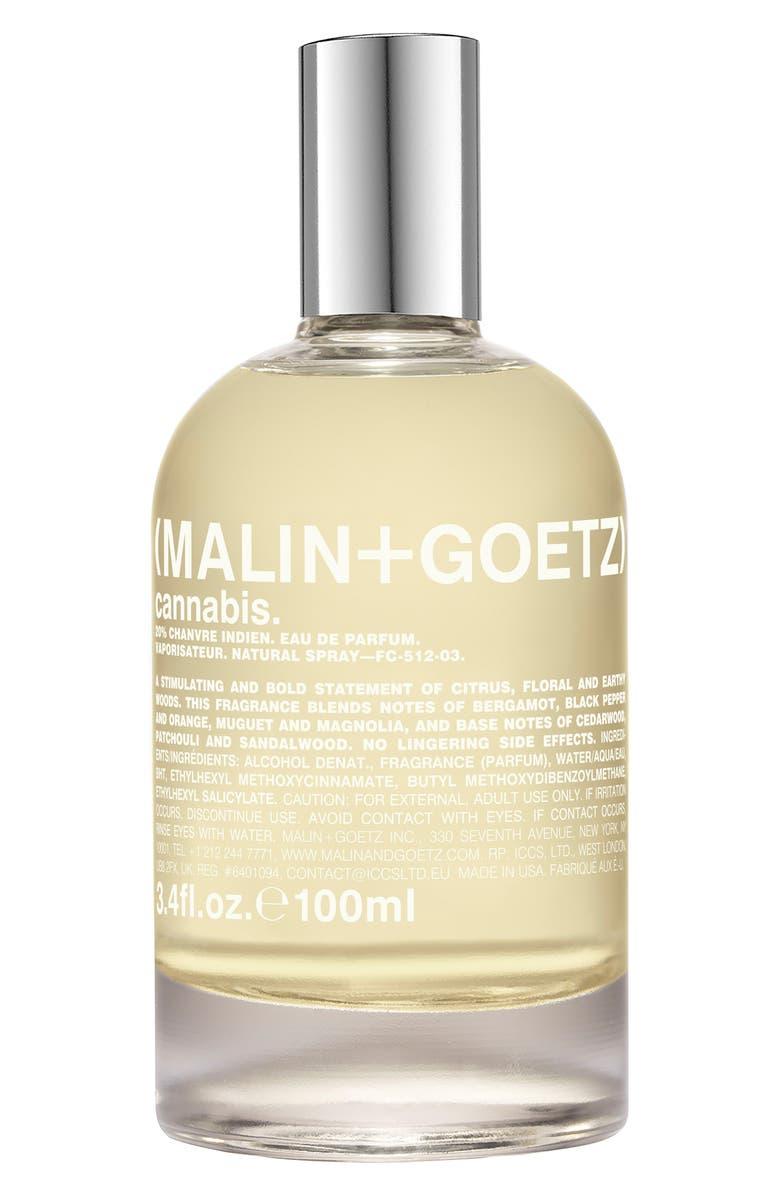 MALIN+GOETZ Cannabis Eau de Parfum, Main, color, NO COLOR