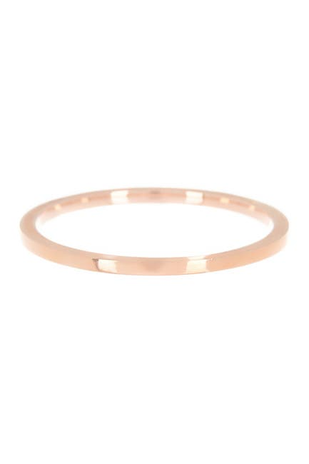 Image of EF Collection 14K Rose Gold Band Ring - Size 8