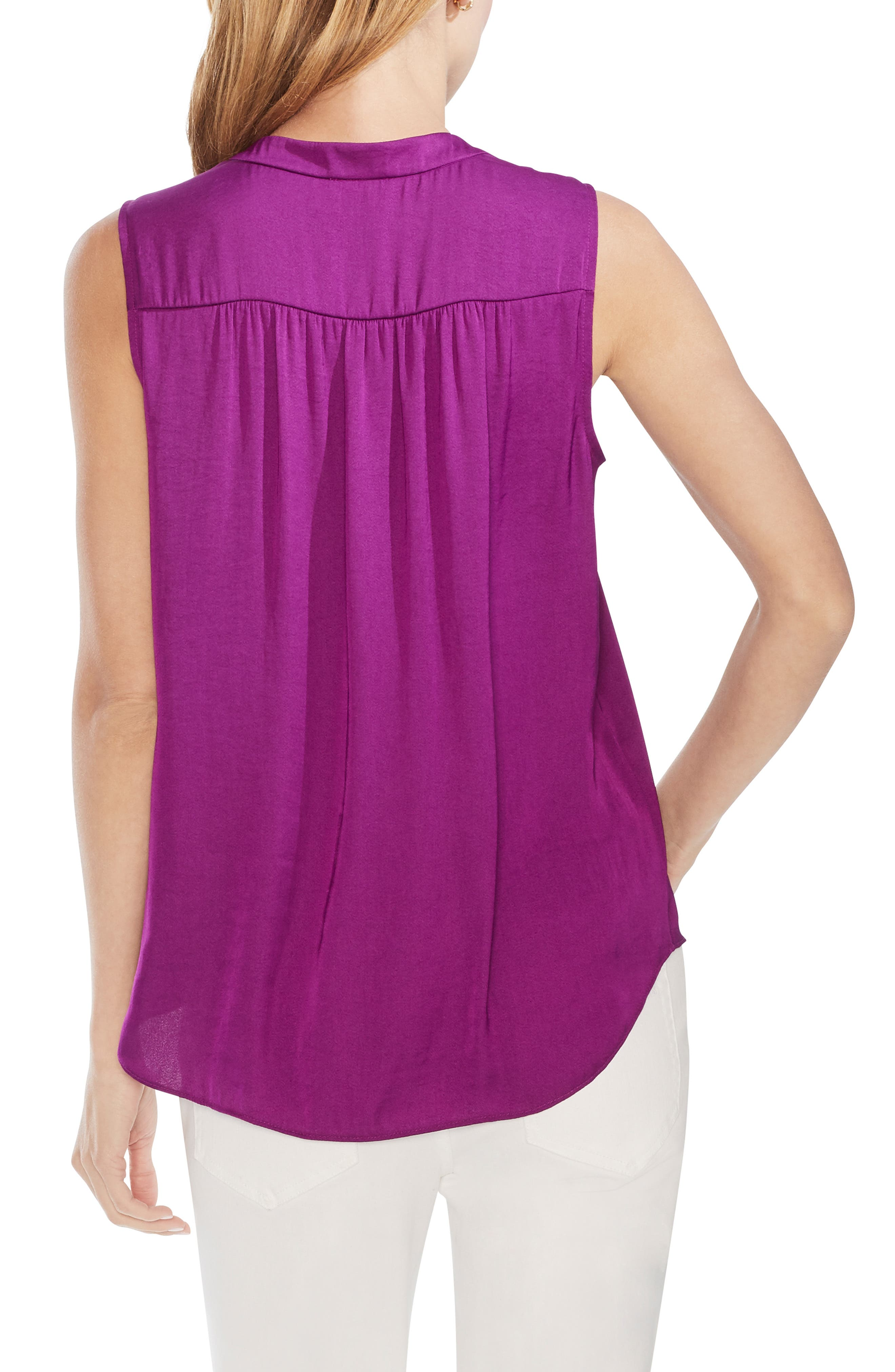 ,                             Rumpled Satin Blouse,                             Alternate thumbnail 52, color,                             560