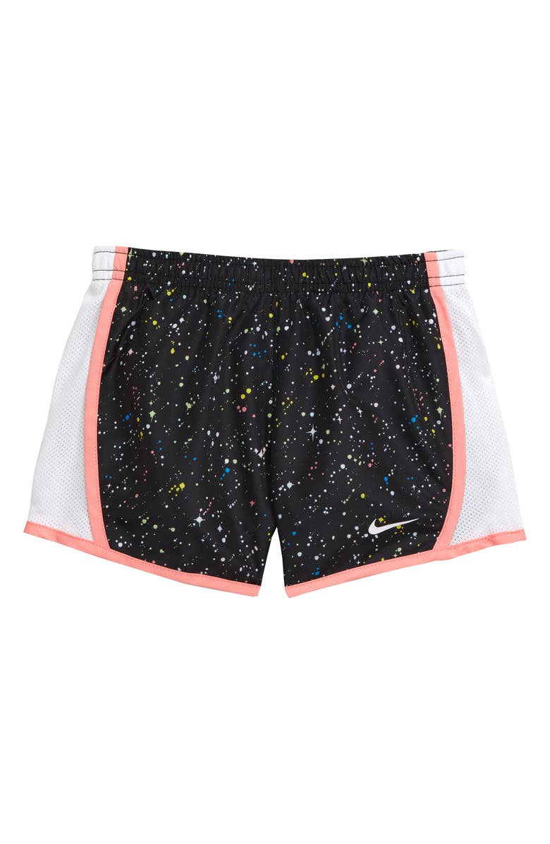 NIKE Dry Print Tempo Shorts, Main, color, BLACK
