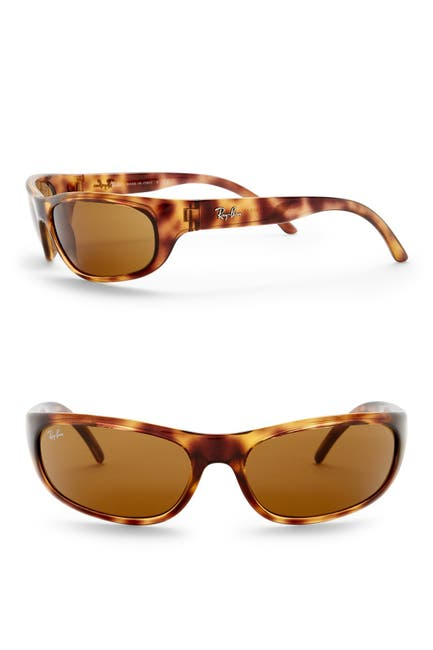 Image of Ray-Ban 60mm Wrap Sunglasses