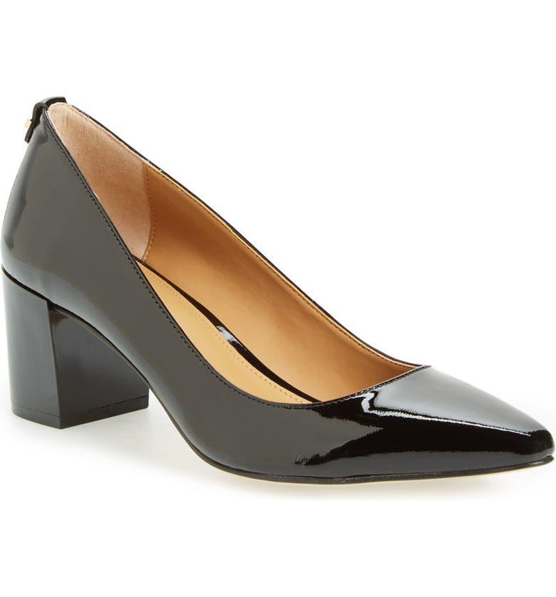 b7a04b86459b92 Calvin Klein 'Natalynn' Block Heel Pump (Women) | Nordstrom