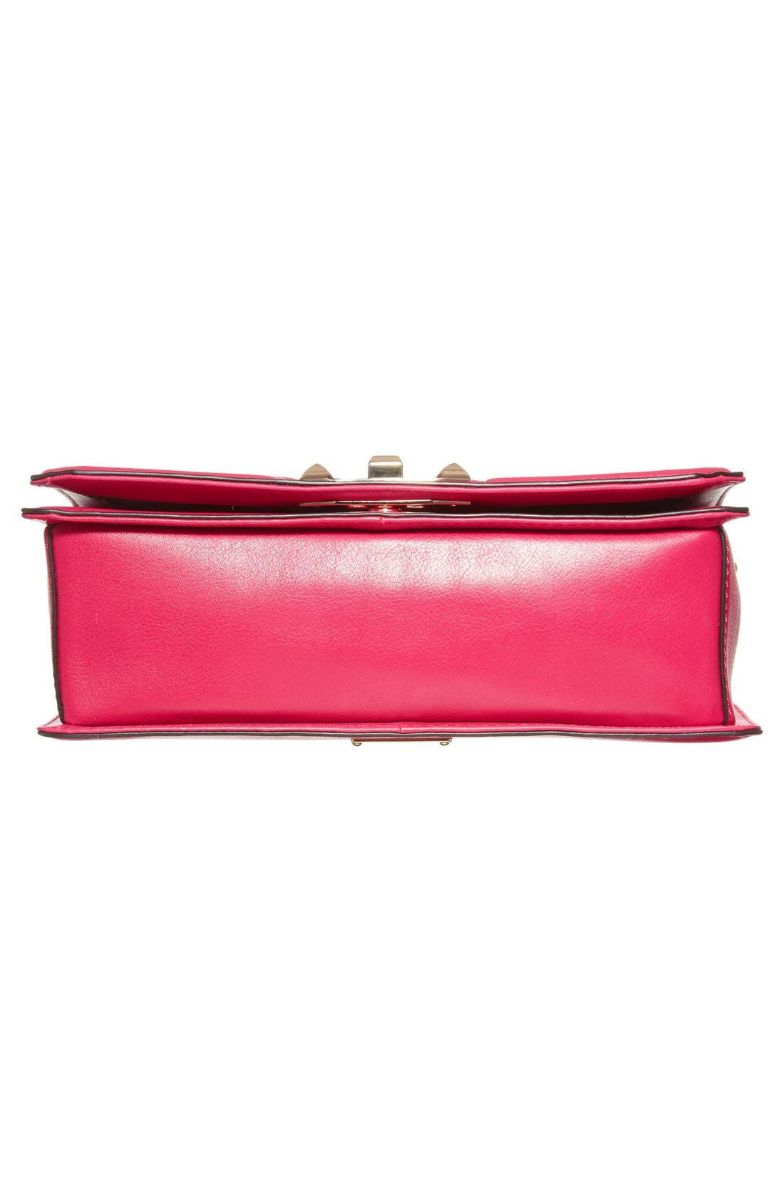 ,                             Love Leather Crossbody Bag,                             Alternate thumbnail 127, color,                             650