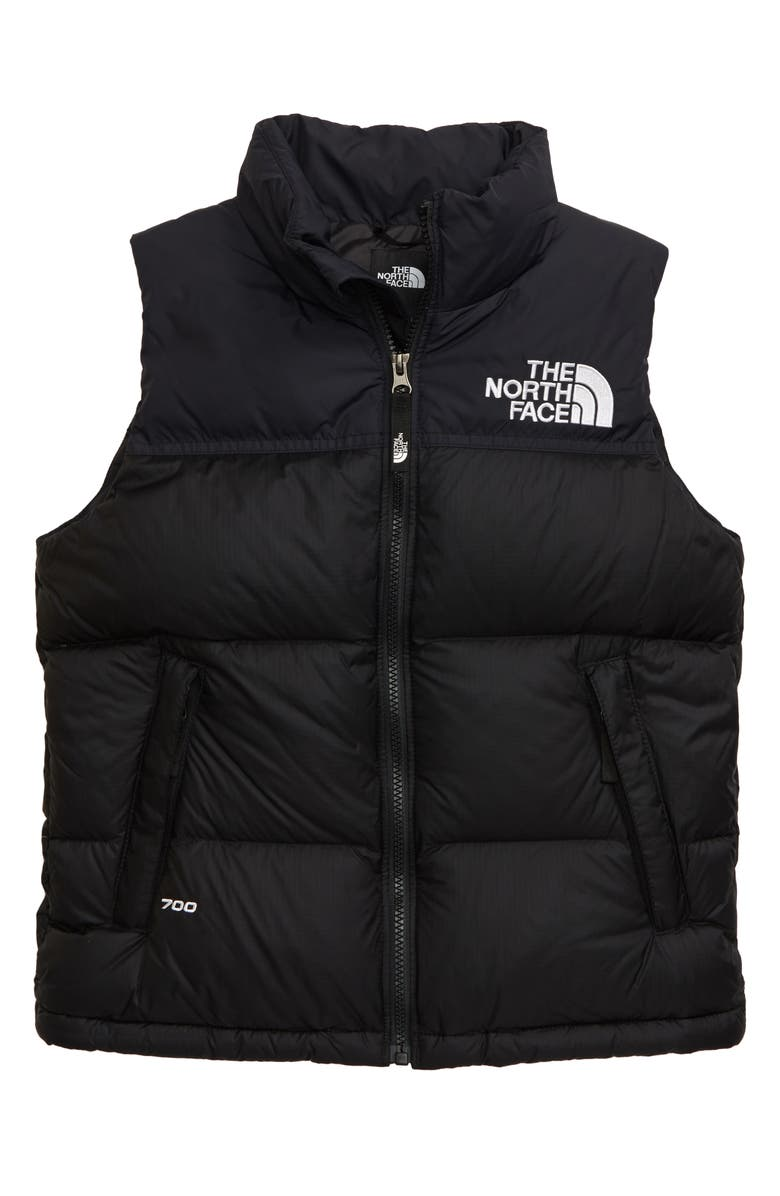 THE NORTH FACE Retro 1996 Nuptse 700 Fill Power Down Vest, Main, color, TNF BLACK