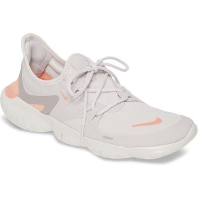 Nike Free Rn 5.0 Running Shoe- Grey