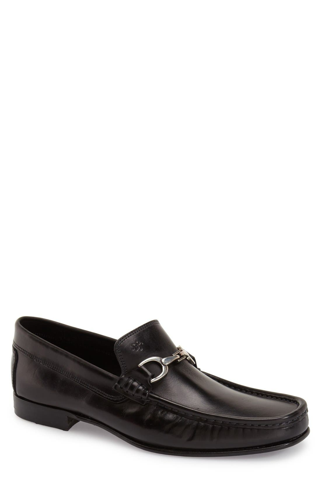 Donald Pliner Darrin Bit Loafer- Black