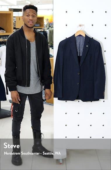 Kyle Trim Fit Solid Wool Sport Coat, sales video thumbnail