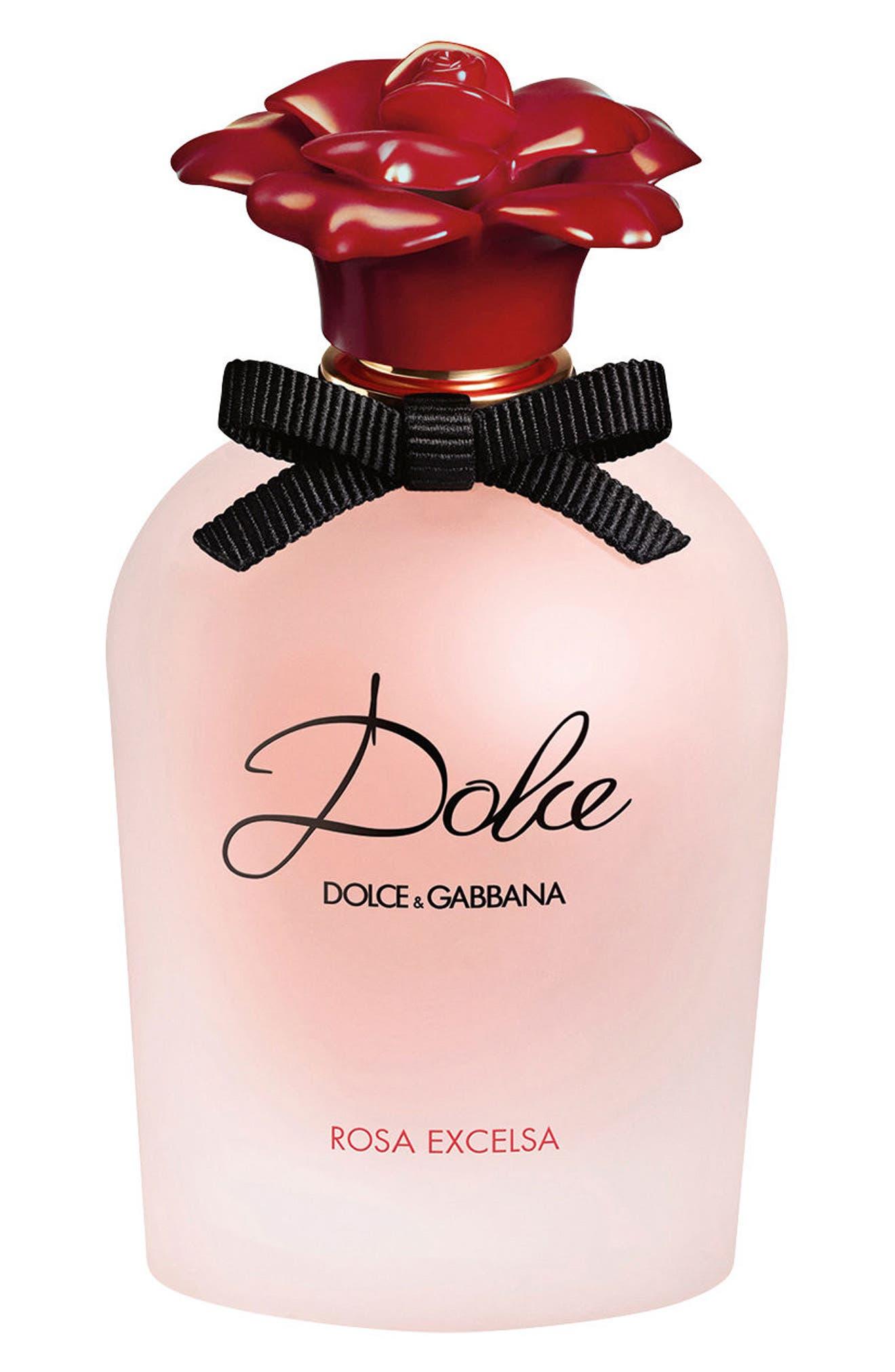 ,                             'Dolce Rosa Excelsa' Eau de Parfum,                             Main thumbnail 1, color,                             NO COLOR