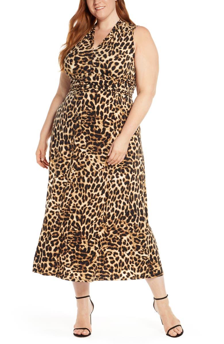 Exotic Animal Maxi Dress