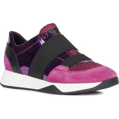 Geox Suzzie Slip-On Sneaker, Pink