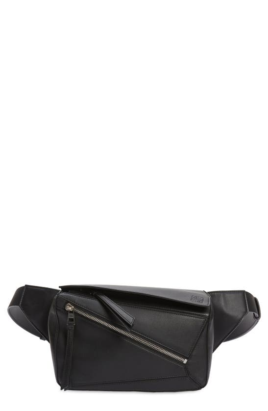 LOEWE SMALL PUZZLE LEATHER BELT BAG