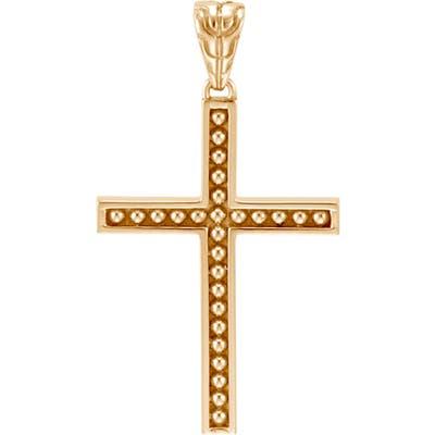 John Hardy Jawan 18K Gold Cross Pendant