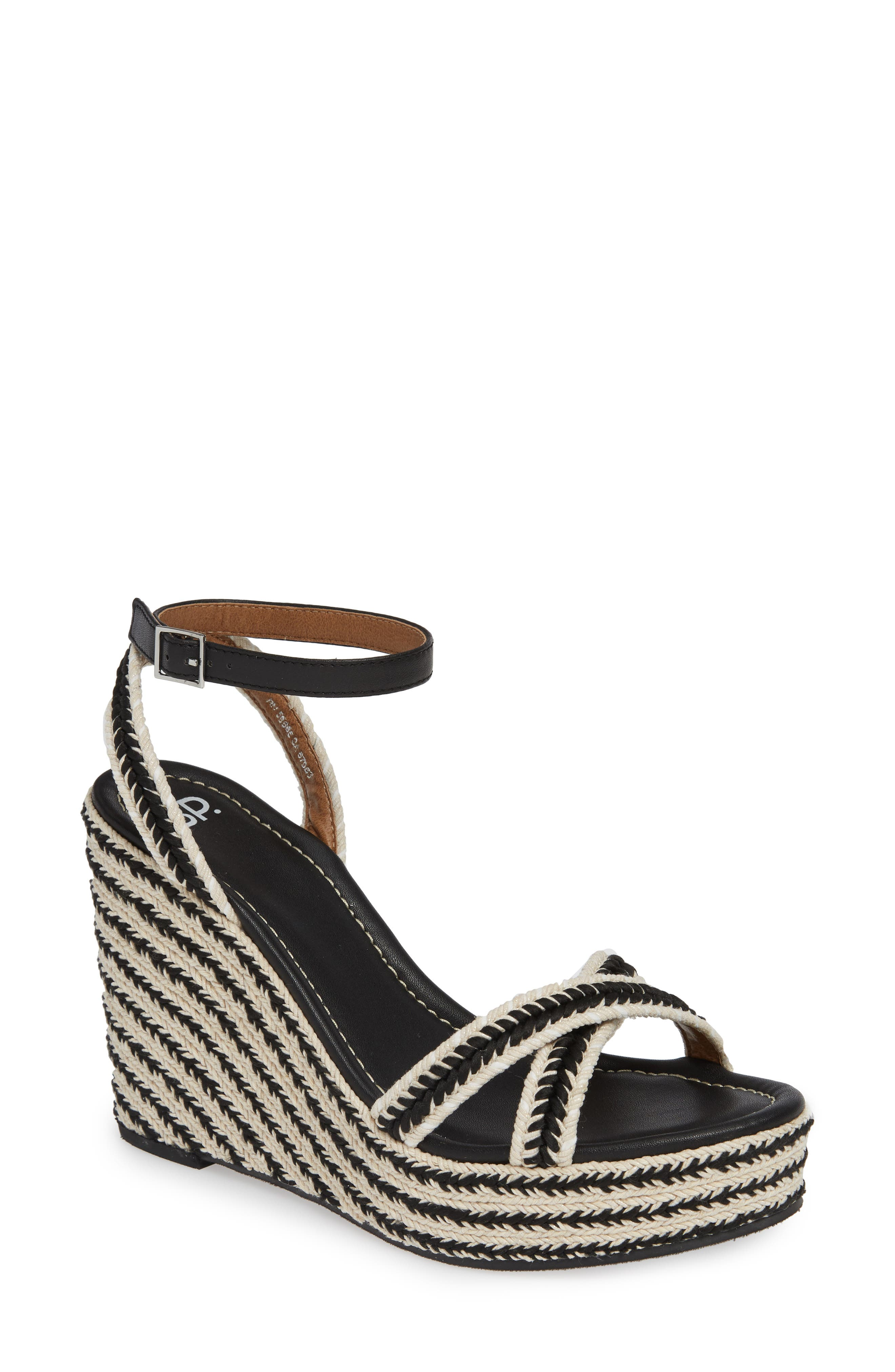 BP. Gabby Woven Wedge Sandal (Women)