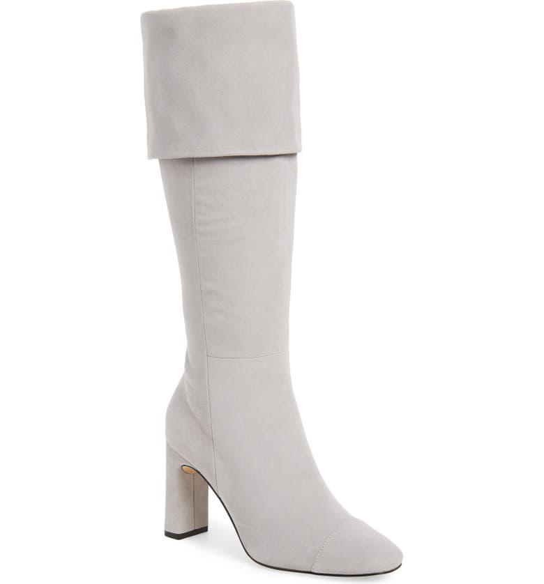 SOMETHING NAVY Mia Knee High Boot, Main, color, 099