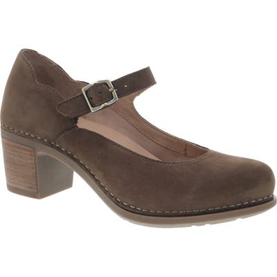 Dansko Harlo Mary Jane Pump- Brown
