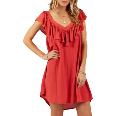 Rip Curl Classic Surf Cover-Up Dress, Red