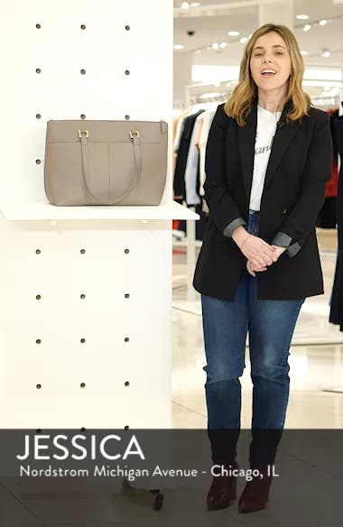 Lexa Pebbled Leather Tote, sales video thumbnail