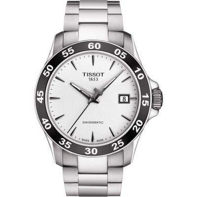 Tissot V8 Swissmatic Bracelet Watch, 42Mm