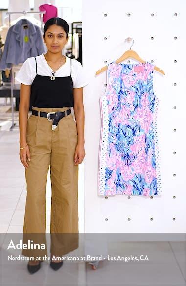 Mila Sleeveless Stretch Sheath Dress, sales video thumbnail