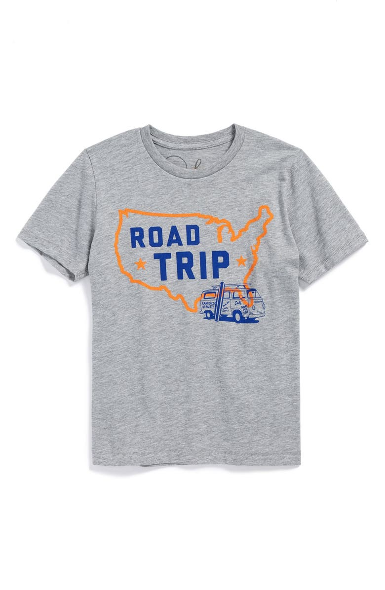 22fb9b749 Peek 'Road Trip' Graphic T-Shirt (Toddler Boys, Little Boys & Big ...
