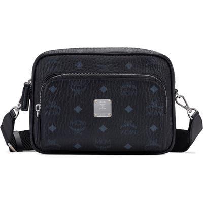 Mcm Klassick Visetos Crossbody Bag - Black