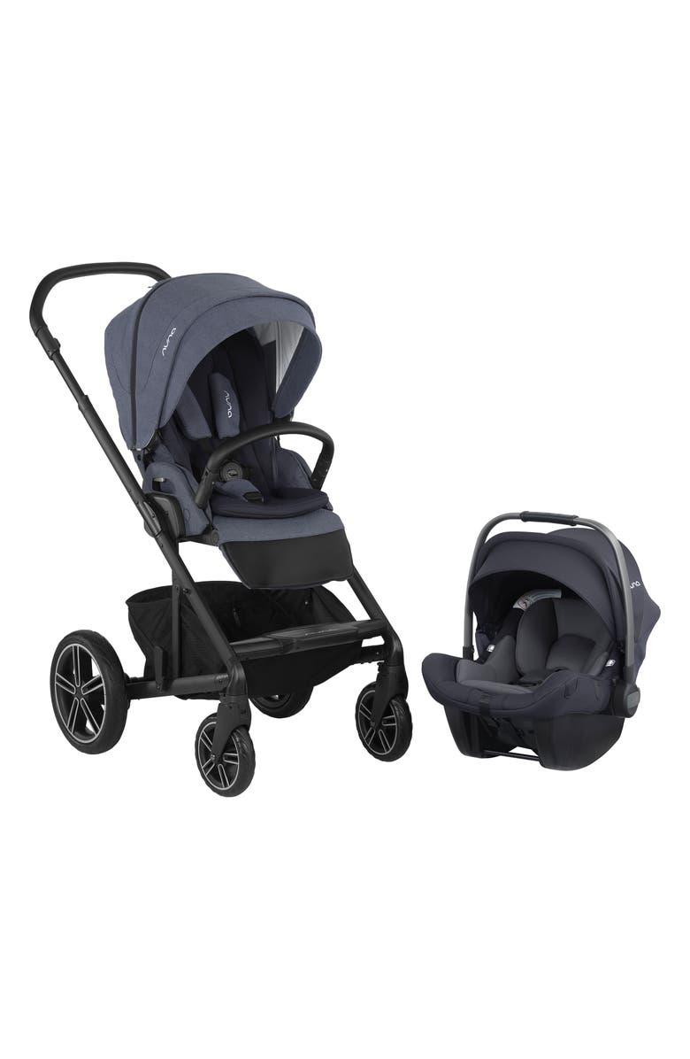 NUNA 2019 MIXX<sup>™</sup> Stroller & PIPA<sup>™</sup> Lite LX Infant Car Seat Set Travel System, Main, color, BLEU