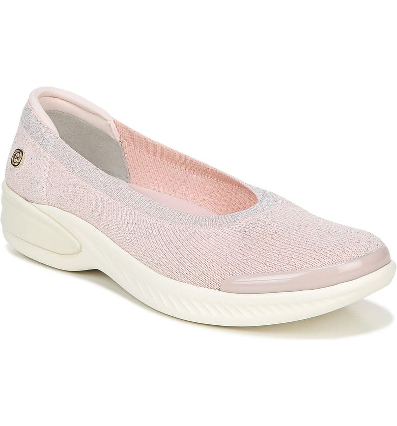 BZEES Nutmeg Knit Flat, Main, color, ROSEWATER FABRIC