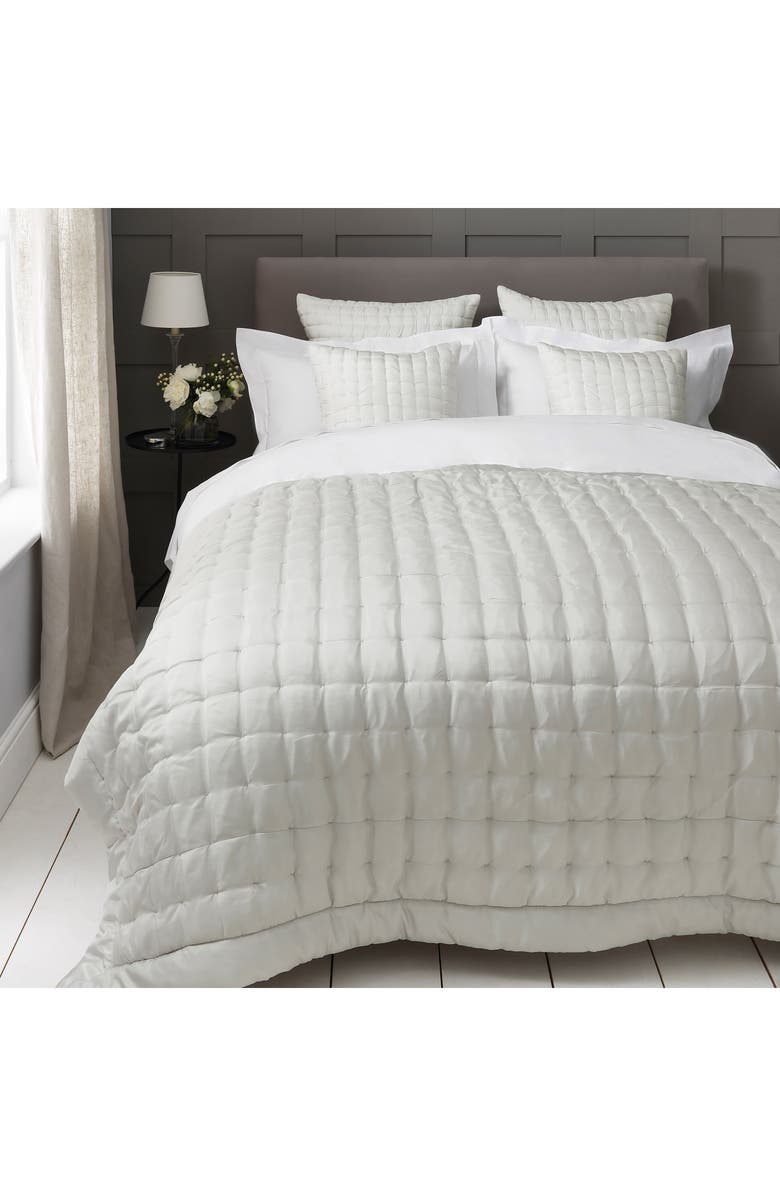 Carrington Silk Quilt by The White Company