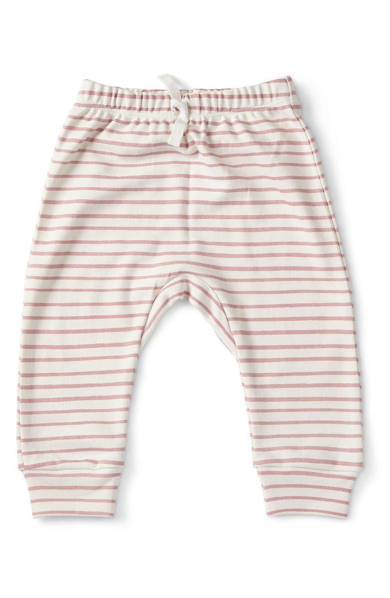 PEHR Stripes Away Harem Pants, Main, color, PINK