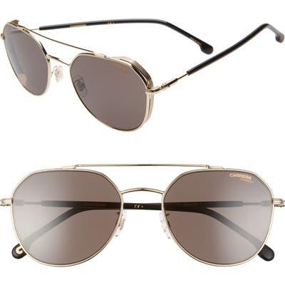 Carrera Eyewear 5m Polarized Aviator Sunglasses - Gold
